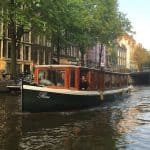floating and walking dinner amsterdam
